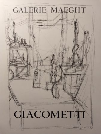 Cartel Giacometti - Maeght