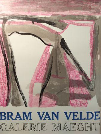 Cartel Van Velde - Maeght
