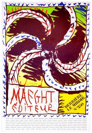 Cartel Alechinsky - Maeght Editeur, 1982
