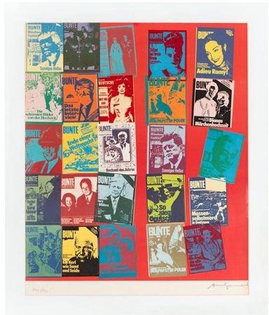 Serigrafía Warhol - Magazine and History, FS II.304 A
