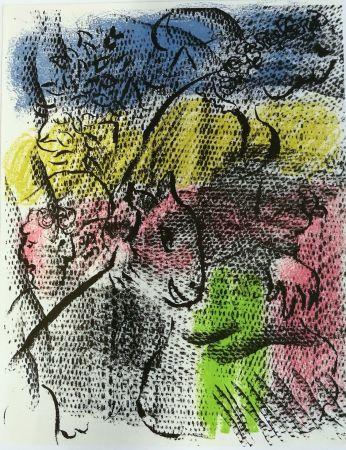 Litografía Chagall - Mai 1970
