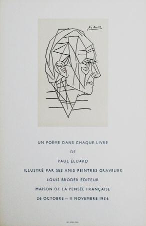 Cartel Picasso - '' Maison de la Pensée Francaise ''