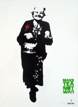 Serigrafía Bambi - Make Tea Not War