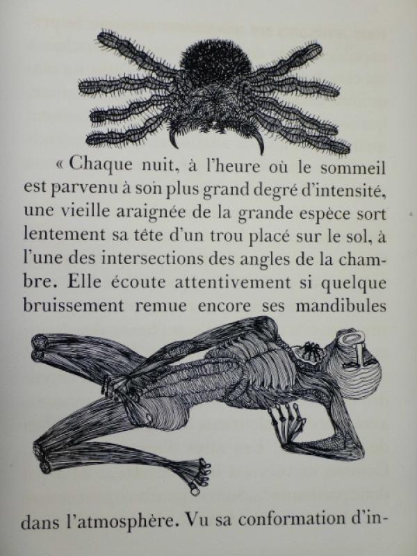 Libro Ilustrado Houplain - Maldoror (Les chants de Maldoror)