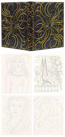 Libro Ilustrado Matisse - MALLARMÉ. POÉSIES. Eaux-fortes originales de Henri Matisse (1932). Reliure de Paul Bonet.