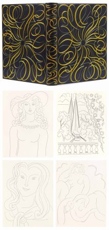 Libro Ilustrado Matisse - MALLARMÉ. POÉSIES. Eaux-fortes originales de Henri Matisse. Reliure de Paul Bonet.