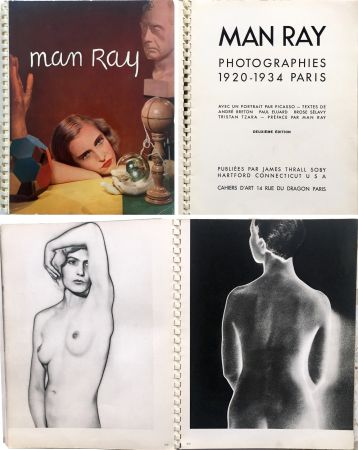 Libro Ilustrado Ray - MAN RAY PHOTOGRAPHIES 1920-1934.