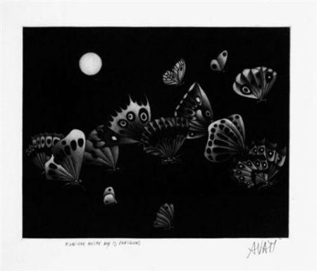 Manera Negra Avati - Manière noire au 13 papillons (1964)
