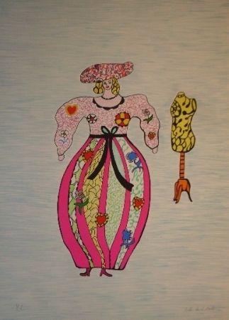 Litografía De Saint Phalle - Mannequin