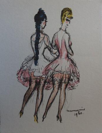 Litografía Van Dongen - Mannequins 1960