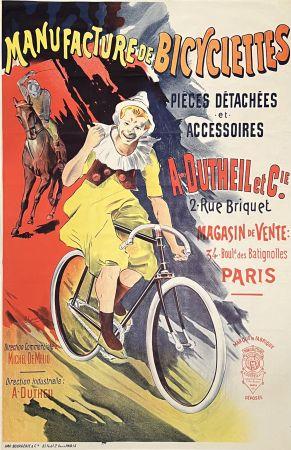 Litografía Corrois - Manufacture de Bicyclettes