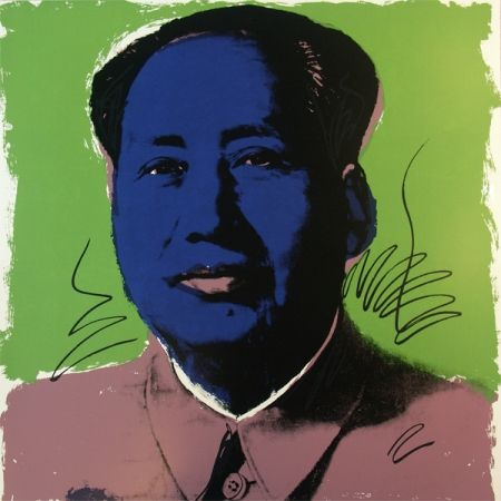 Serigrafía Warhol (After) - Mao