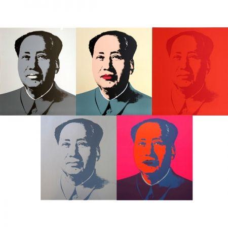 Serigrafía Warhol (After) - Mao - Portfolio