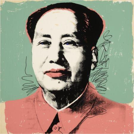 Serigrafía Warhol - Mao #95