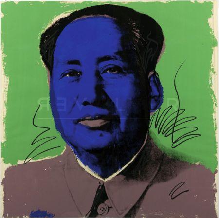 Serigrafía Warhol - Mao (Fs Ii.90)