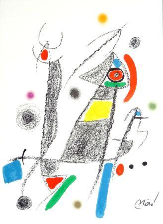 Litografía Miró - Maravillas