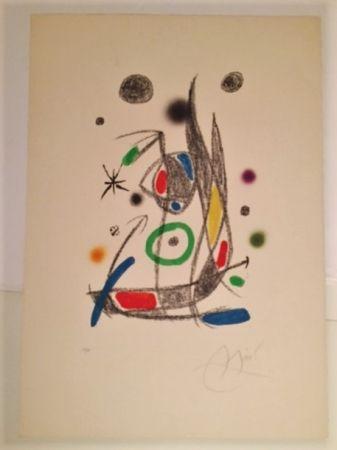 Litografía Miró - Maravillas con Varaciones Acrosticas