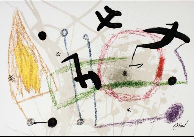 Litografía Miró - Maravillas con variaciones 5