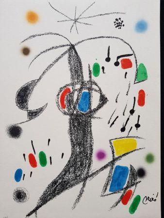 Litografía Miró - Maravillas con variaciones acrósticas en el jardín de Miró - 19