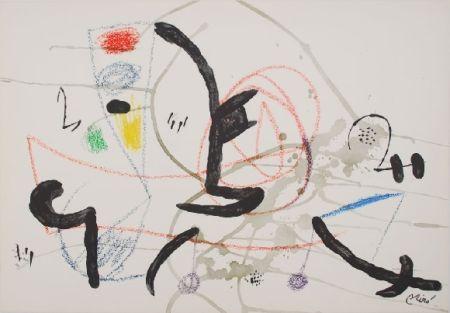 Litografía Miró - Maravillas con variaciones acrosticas