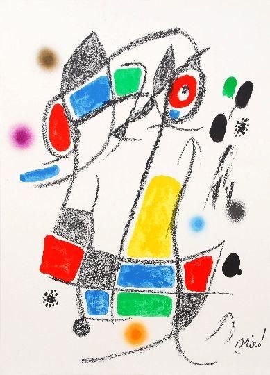 Litografía Miró - Maravillas con variaciones acrosticas 1