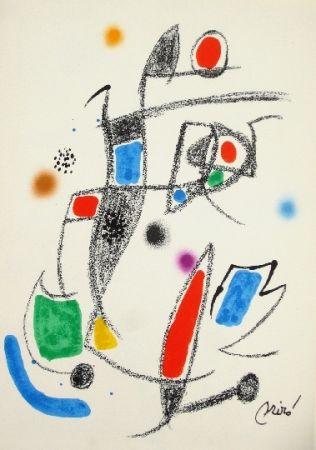 Litografía Miró - Maravillas con variaciones acrosticas 10