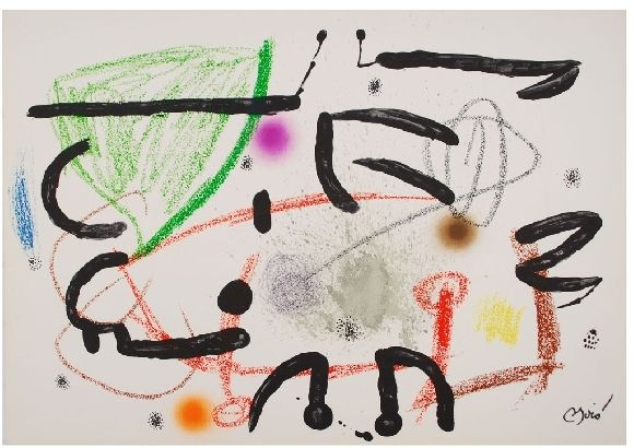Litografía Miró - Maravillas con variaciones acrosticas 15