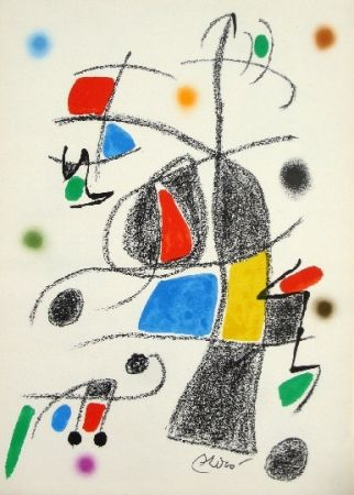 Litografía Miró - Maravillas con variaciones acrosticas 17