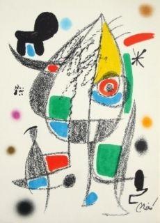 Litografía Miró - Maravillas con variaciones acrosticas 20