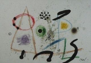 Litografía Miró - Maravillas con variaciones acrosticas 3