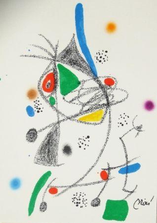 Litografía Miró - Maravillas con variaciones acrosticas 4