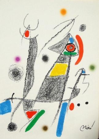 Litografía Miró - Maravillas con variaciones acrosticas 6