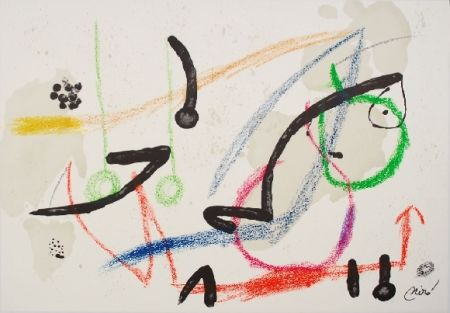 Litografía Miró - Maravillas con variaciones acrosticas 7