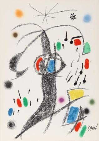 Litografía Miró - Maravillas con Variaciones Acrosticas en el jardin de Miro (Number 21)