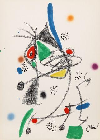 Litografía Miró - Maravillas con Variaciones Acrosticas en el jardin de Miro (Number 6)