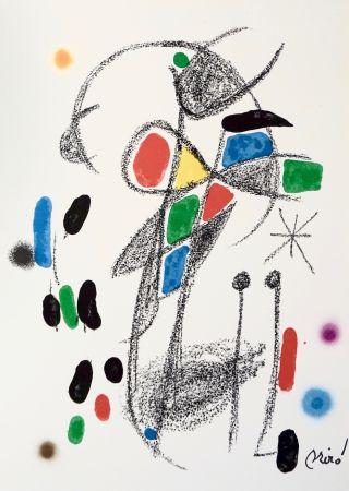 Litografía Miró - Maravillascon variaciones arcrosticas 18