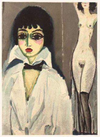 Litografía Van Dongen - Marcele Leoni With Nude