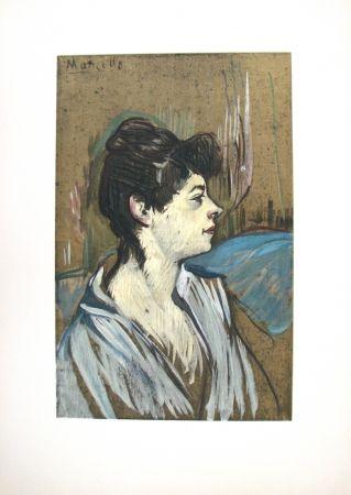 Litografía Toulouse-Lautrec - Marcelle