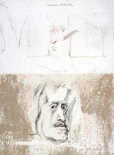 Litografía Bru - Mariana destinada Velasquez