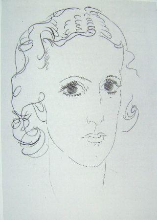 Grabado Marcoussis - Marie-Laure de Noailles