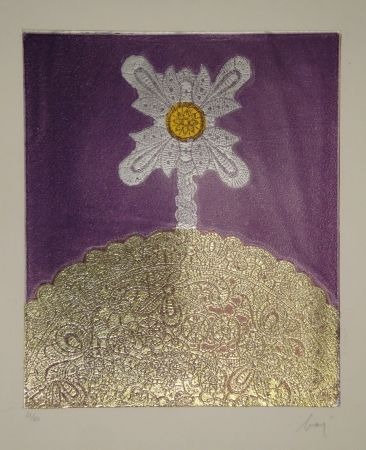 Aguafuerte Baj - Marie-Laure de Noailles, Artiste-Peintre