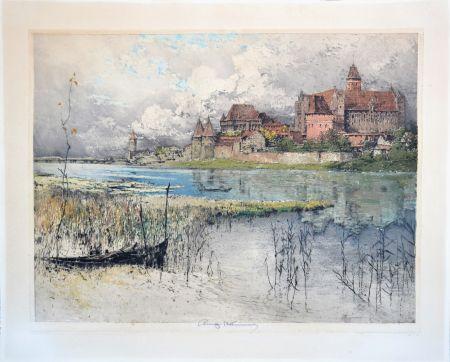 Aguatinta Kasimir - Marienburg Castle