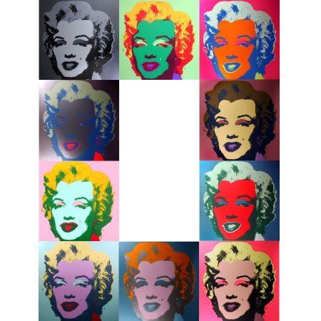 Serigrafía Warhol (After) - Marilyn - Portfolio