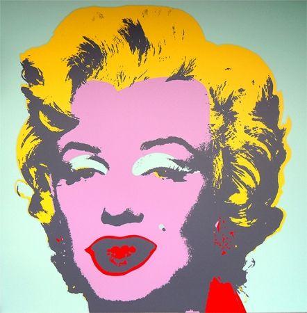 Serigrafía Warhol (After) - Marilyn 11.23