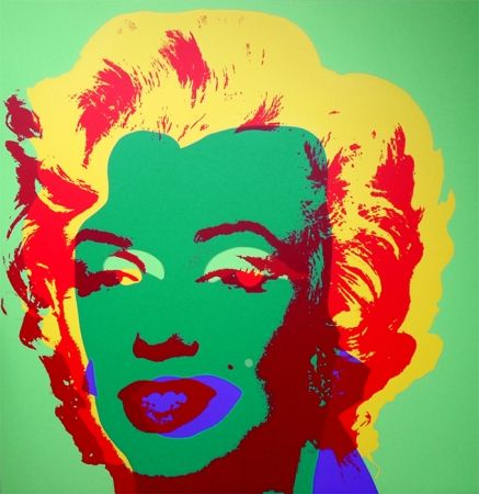 Serigrafía Warhol (After) - Marilyn 11.25