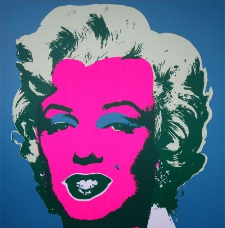 Serigrafía Warhol (After) - Marilyn 11.30
