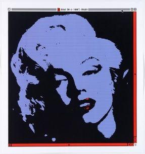 Litografía Pusenkoff - Marilyn // 30