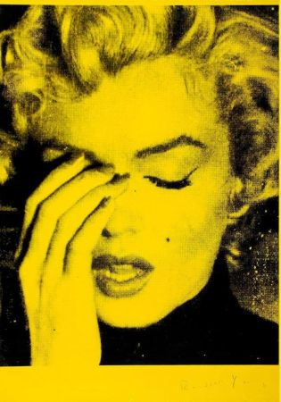 Múltiple Young - Marilyn Crying (Mulholland Yellow)