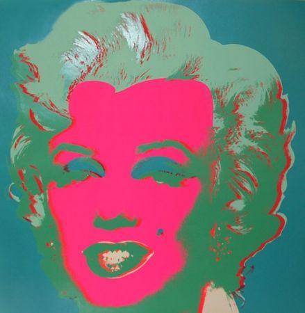 Litografía Warhol - Marilyn FS II.30