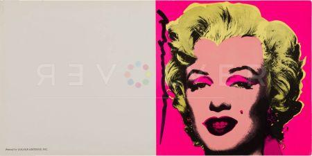 Serigrafía Warhol - Marilyn Invitation (Castelli Graphics)